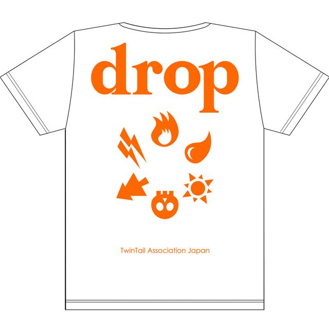 drop2周年T白xオレンジ