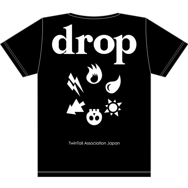drop2周年T黒x白