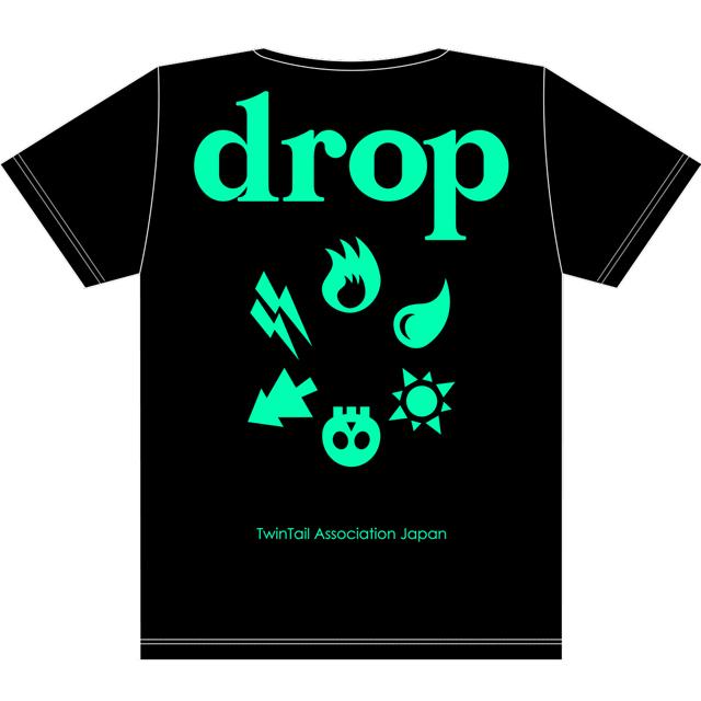 drop2周年T黒x緑