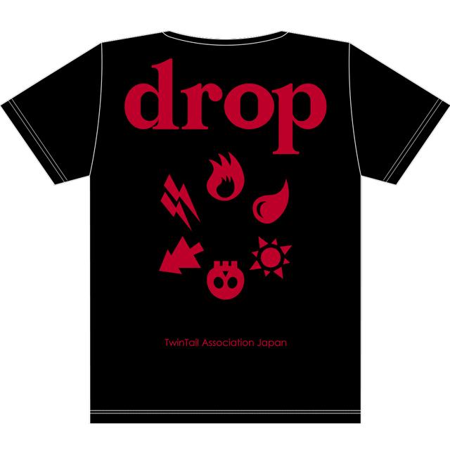 drop2周年T黒x赤